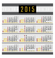 Calendar 2015 1a vector