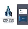 Building logo design template business or finances vector