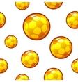 Gold football soccer seamless background vector