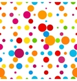 Abstract colorful round celebration background vector