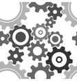 Seamless cogwheel patterns vector
