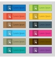 Text file sign icon file document symbol set of vector