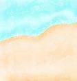 Holiday background - beach sea sand vector