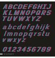 3d font italic vector