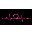 Cardiogram of love vector