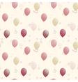 Balloons seamless texture vector