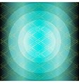Blue technology grid circle background vector