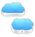 Clouds icons vector