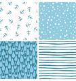 Doodle abstract patterns part 3 vector
