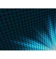 Blue rays light 3d mosaic eps 8 vector