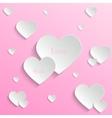 Valentines day backround vector