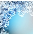 Christmas snowflakes background eps 10 vector