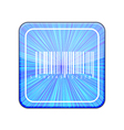 Version bar code icon eps 10 vector