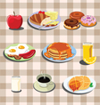 Set of food vector