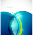 Detailed blue wavy abstract background vector