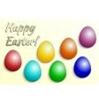 Eastern eggs collection vector