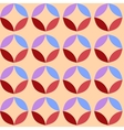 Circle pattern colored background vector