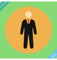 Businessman web icon - vector