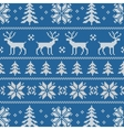 Seamless pattern with classical sweater design vector