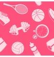 Sport seamless pattern vector