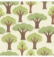 Seamless abstract textile pattern with various vector