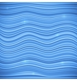 Blue waves sea background vector
