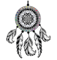 Dream catcher protection american indians vector