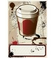 Coffee to go vector
