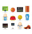 Basketball and sport icons vector