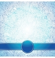 Background like a frost abstract winter texture vector