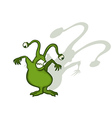 Monster cartoon character vector
