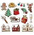 Christmas and new year design elements vector