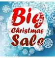 Christmas big sale template vector