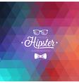 Hipster blur vector