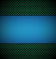 Blue green gill vector