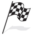 Racing flag jedna resize vector