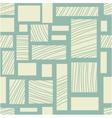 Square retro background vector