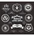 Vintage bakery frames vector