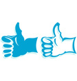 Gesture hand vector