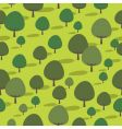 Seamless trees vector