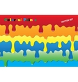 Colorful paints vector