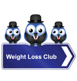 Weight loss club vector