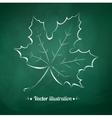 Autumn leaf vector