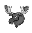 Cartoon moose vector
