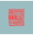 Like concept background vector