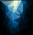 Light blue polygonal mosaic vector