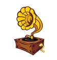 Vintage gramophone vector