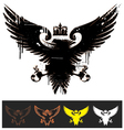 Heraldry eagle vector