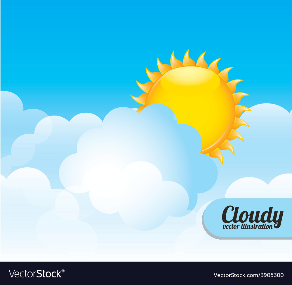 Cloudscape design vector | Price: 3 Credit (USD $3)