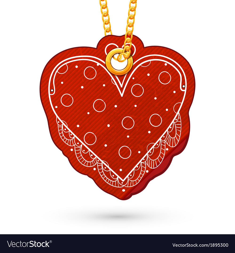 Heart shaped purse vector | Price: 1 Credit (USD $1)